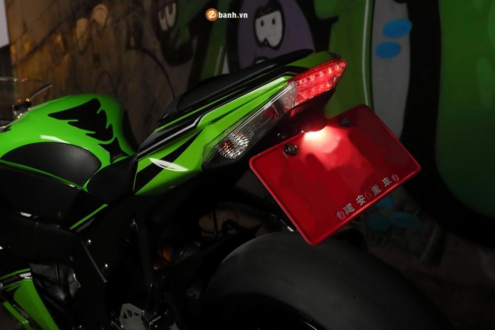 Ninja ZX10R ao dieu trong buc anh suong khoi huyen bi - 16