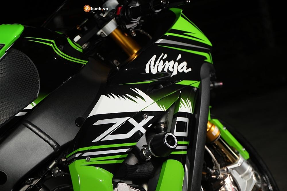 Ninja ZX10R ao dieu trong buc anh suong khoi huyen bi - 8