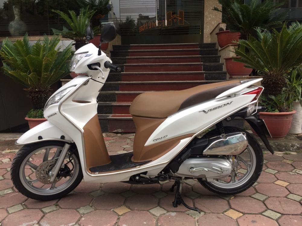 Rao ban Honda Vision fi 2014 trang chinh chu nha it dung con moi 98