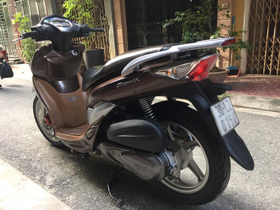 Rao ban Shark 125 kieu dang Sh Nau cafe con rat moi chinh chu su dung nguyen ban - 3