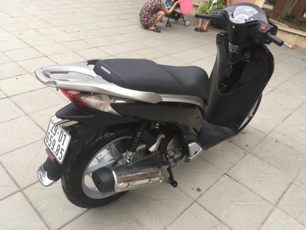 SH 150i mau den phien ban nhap khau My dky nam 2014 - 3