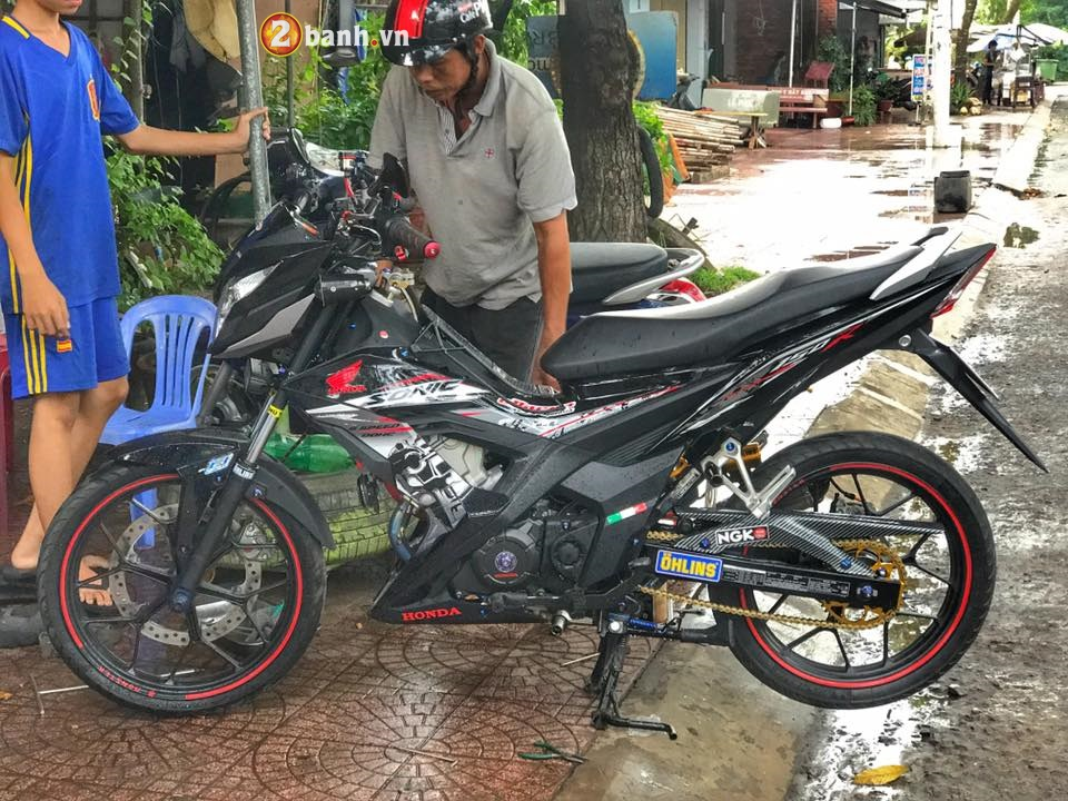 Sonic 150Fi niem kieu hanh cua Honda Nhat Ban