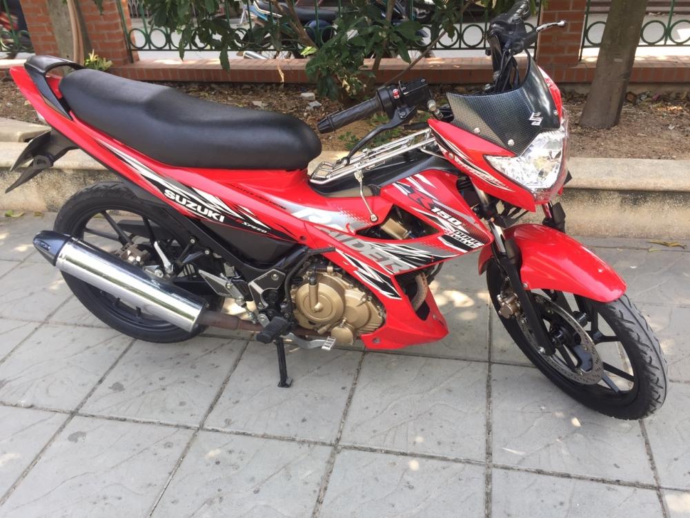 Suzuki Raider 150cc mau do 2015 bien 29H1 55898 - 3
