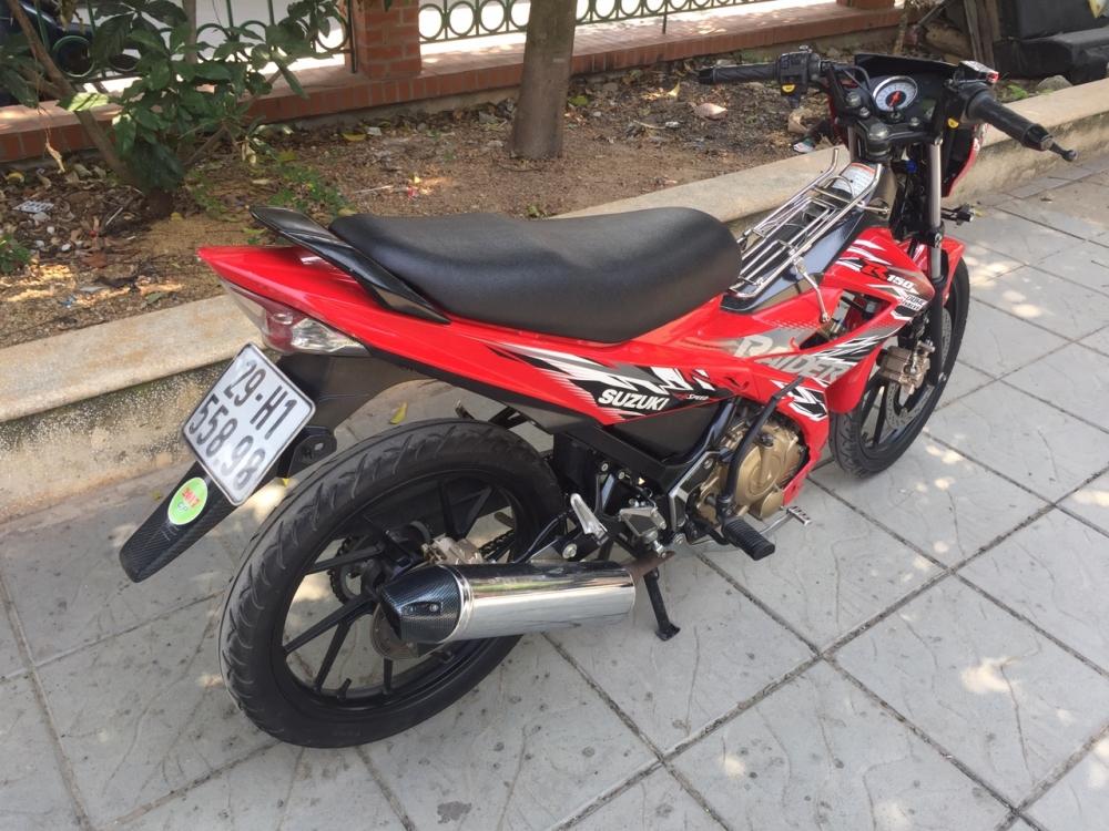 Suzuki Raider 150cc mau do 2015 bien 29H1 55898 - 6