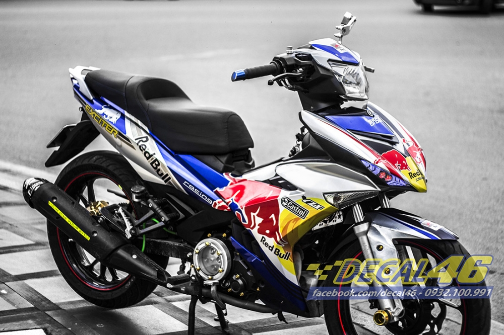 Tong hop bo tem xe Exciter 150 thang 8 cuc chat do Decal 46 thuc hien - 13