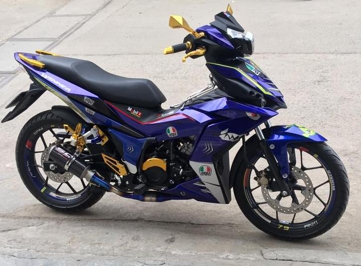 Winner 150 uy nghi ham ho voi bo canh ca map - 6