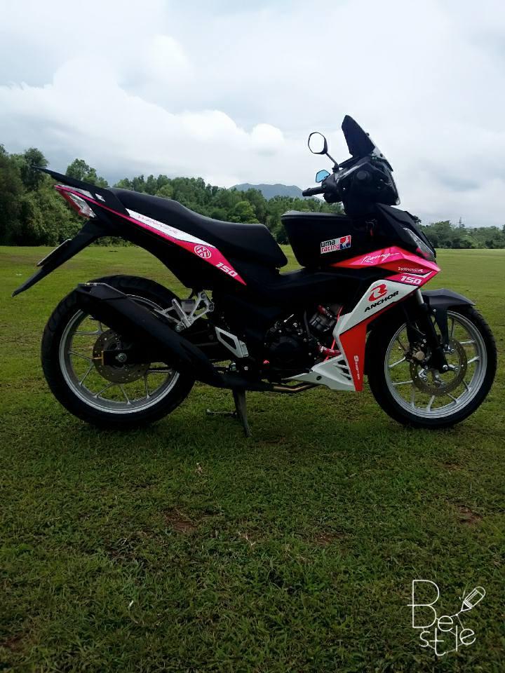 Winner 150cc phong cach hong khoe dang ben dan cuu non