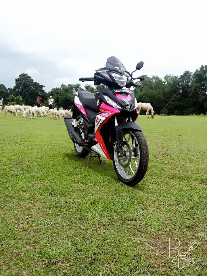 Winner 150cc phong cach hong khoe dang ben dan cuu non - 4
