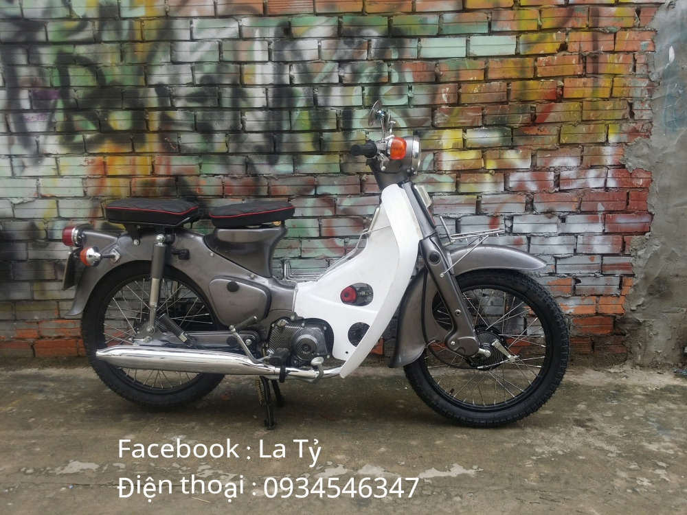 Xe Cub Do Nhe Van Giu Duoc Phong Cach Xe zin - 4