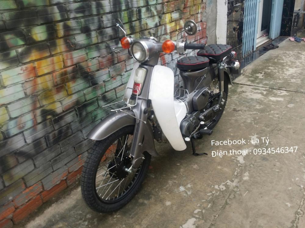 Xe Cub Do Nhe Van Giu Duoc Phong Cach Xe zin - 5