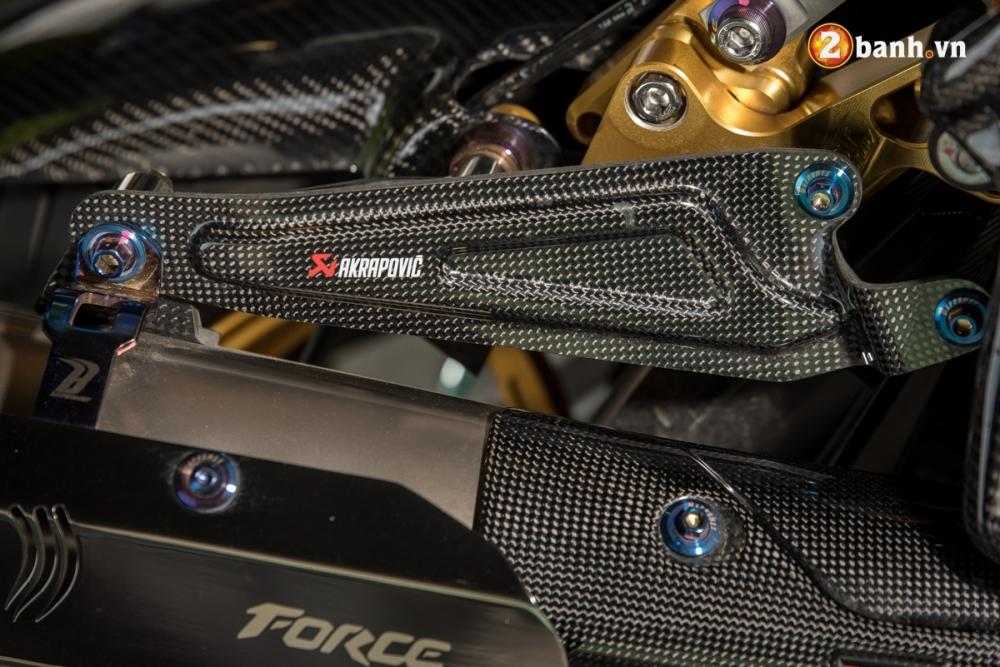 Yamaha Force 155 pha cach trong ban do full Option - 13