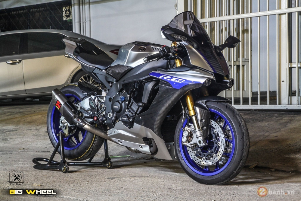 Yamaha R1M 2017 ban nang cap khung ngoai suc tuong tuong tu dan choi Thai