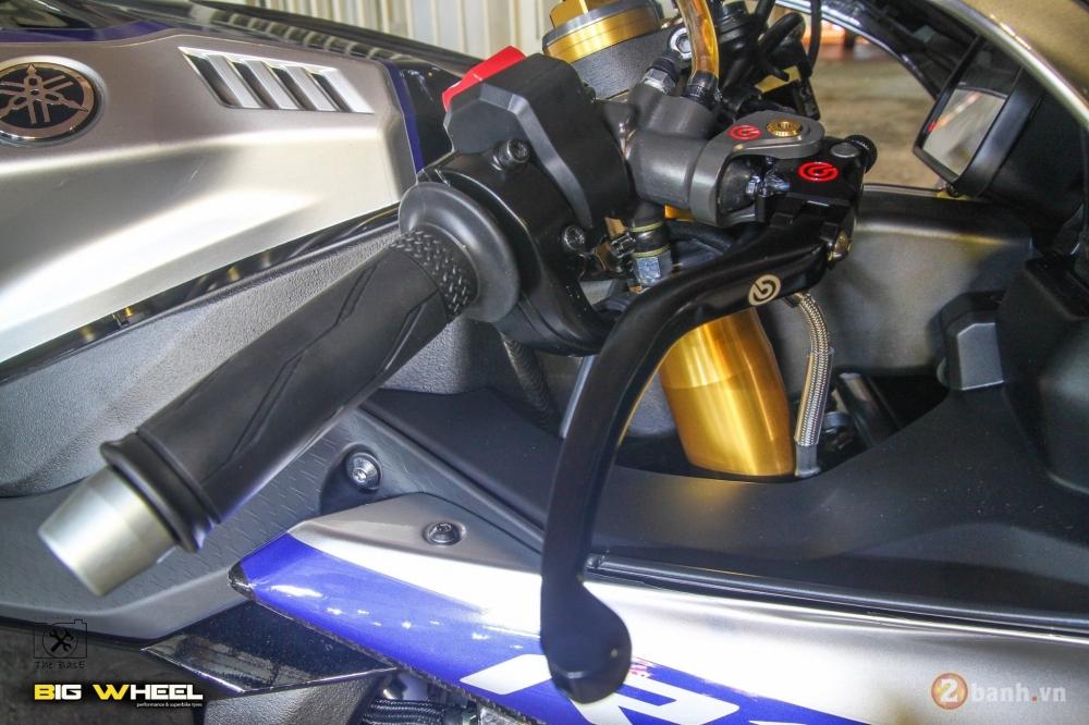 Yamaha R1M 2017 ban nang cap khung ngoai suc tuong tuong tu dan choi Thai - 3