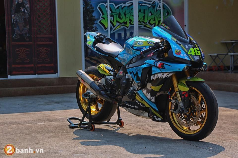 Yamaha R1M lot xac sieu doc trong phien ban Ca Map Bien Xanh - 2