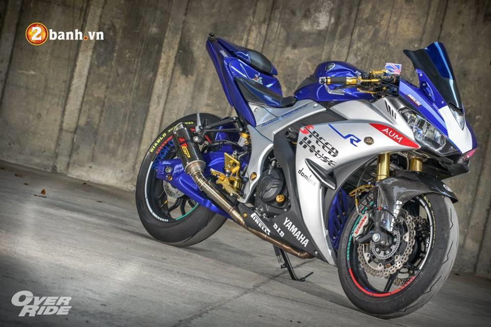 Yamaha YZFR3 hoan hao trong ban do khung long Full Sport Option