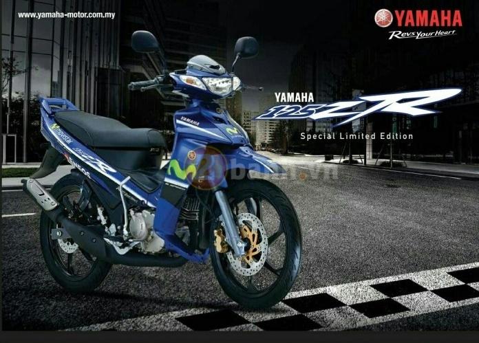 Yamaha Z125 2017 phien ban dac biet tiep tuc duoc lam moi