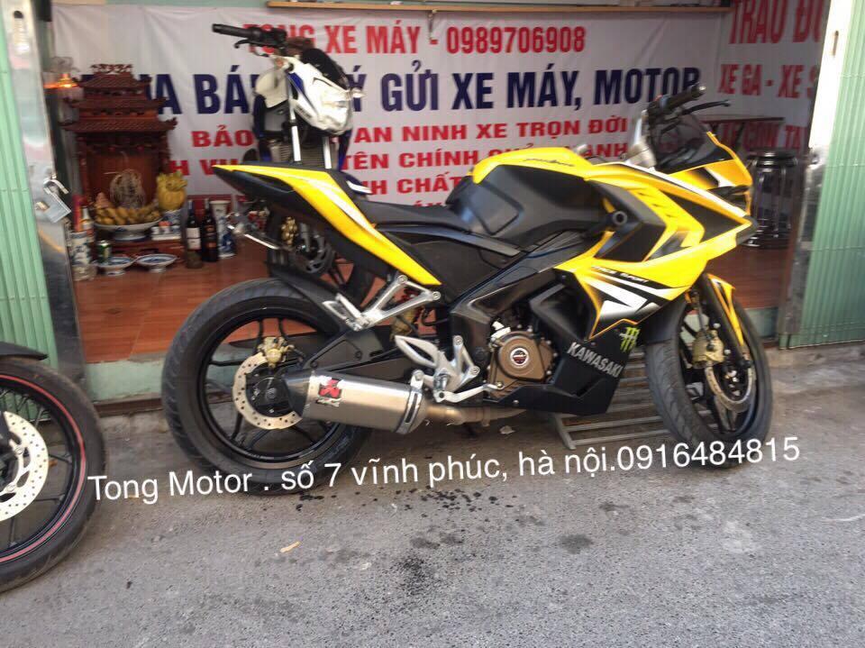 Bajaj RS200 2016 Xe chay 1800 cay so xe nhu moi tinh dap thung khach hang ve co the dang ky ten - 2