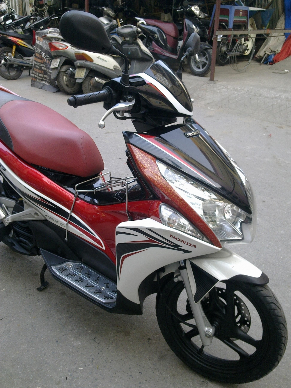 Ban Airblade Fi Sport doi 2011 29M 03543 Sport ban 245 trieu chinh chu giu gin nguyen ban - 2