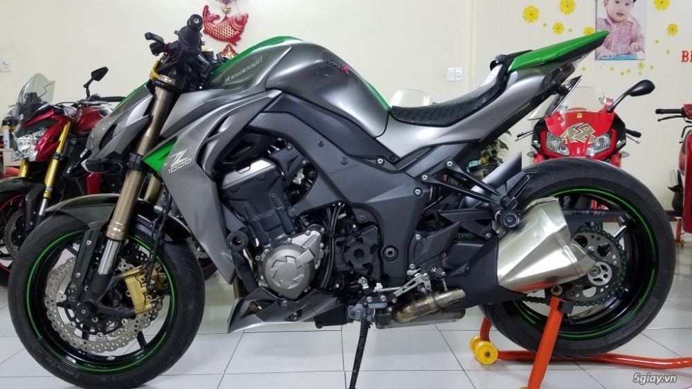 Ban Kawasaki Z1000Date 92014HQCNABSSaigonBien dep 9 nutNgay chu - 15