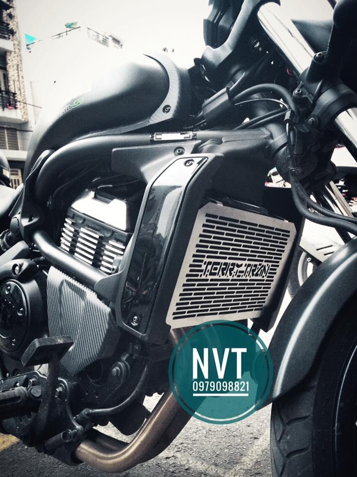 Bao ve ket nuoc Z900 Z650 Vulcan Z300 Ninja300 CB1000 XSR900 MT09 Tracer MT03 GSXR750 Hyper939 821 - 5