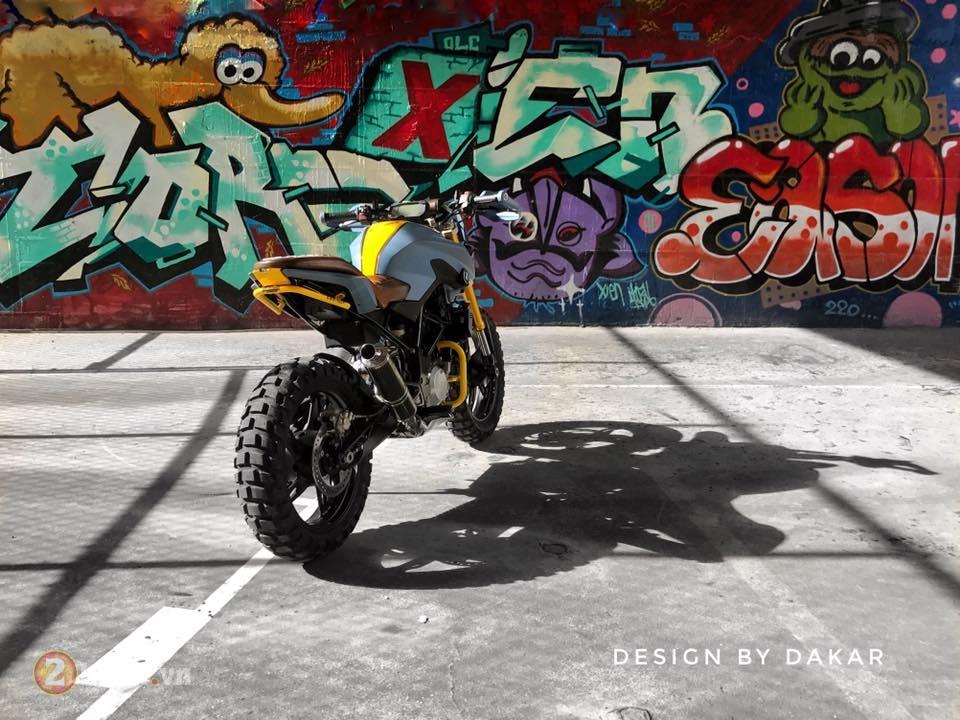 BMW G310R do lot xac day ngoan muc cua biker Dai Loan - 7