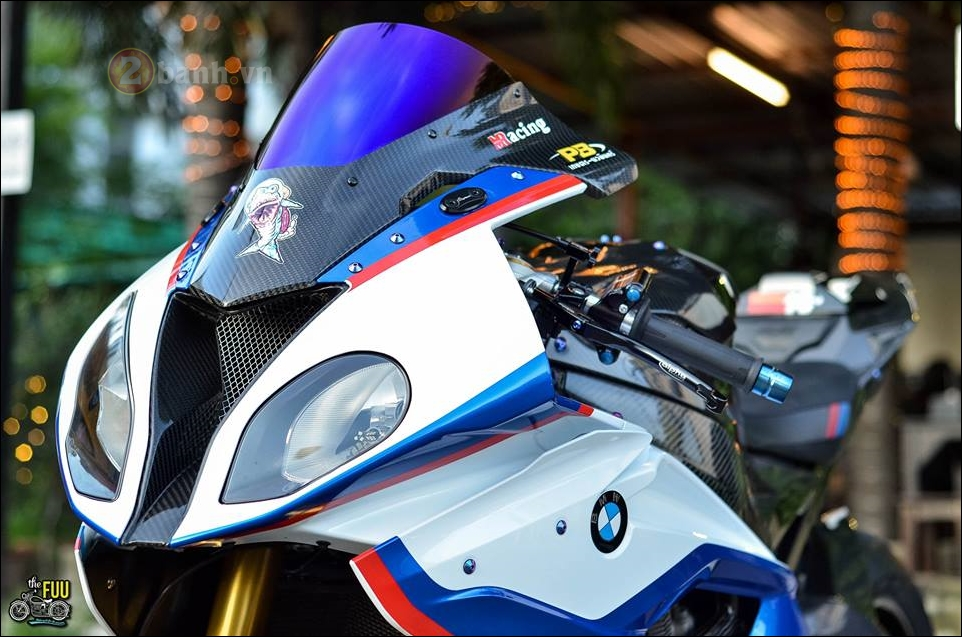 BMW S1000RR do Carbon hoa trong tung chi tiet - 3
