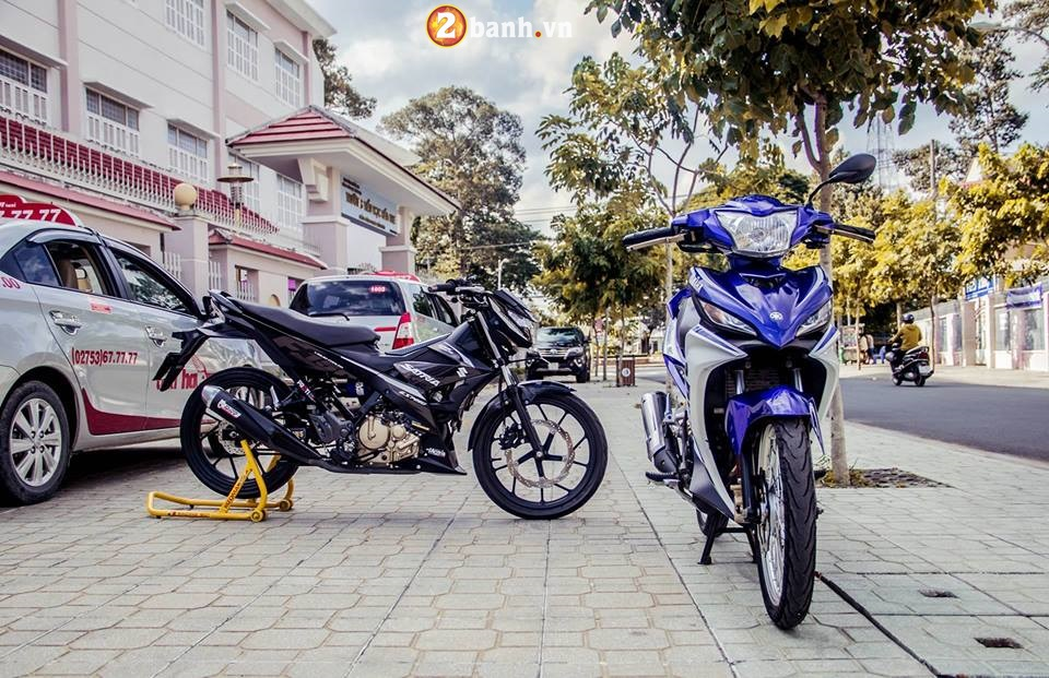 Bo anh Exciter 135 do khoe dang cung Raider Fi day ca tinh - 9