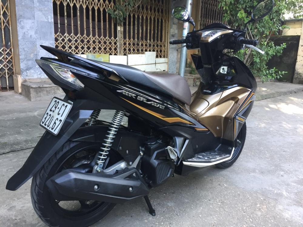 Can ban Honda Airblade 125 fi vang den 2015 con moi chinh chu 33tr500 - 3