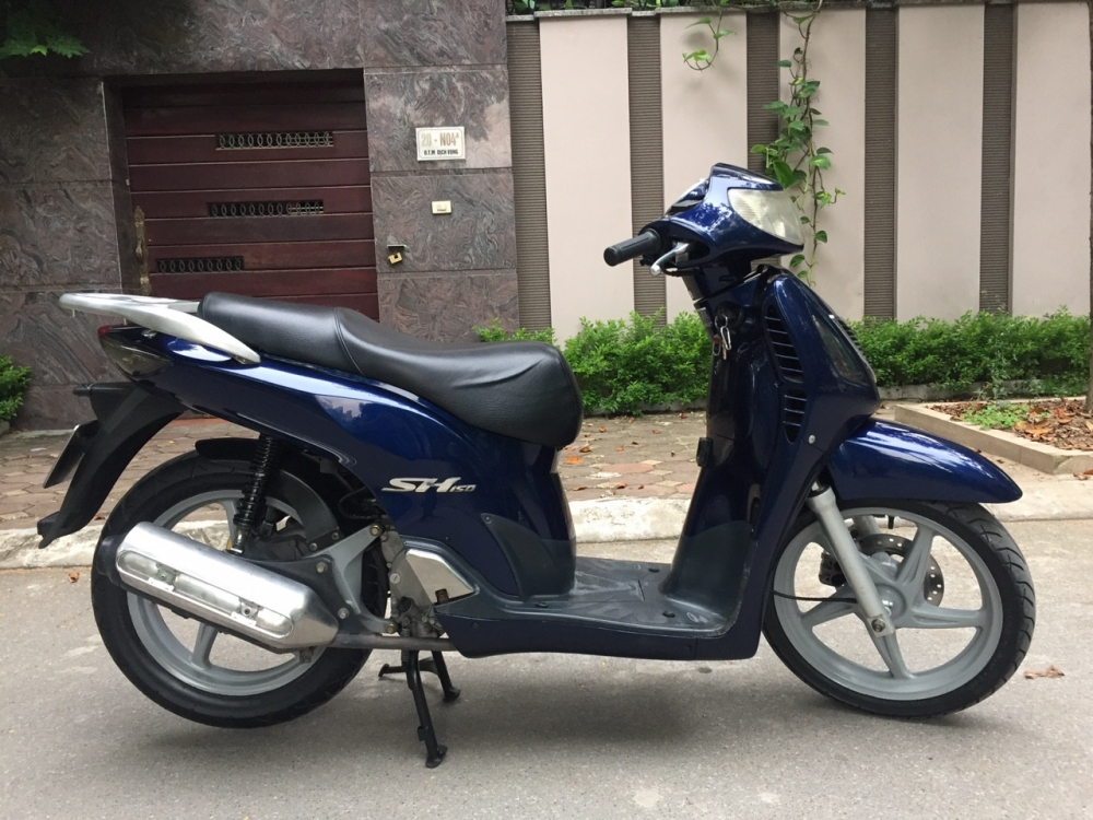 Can ban Honda Sh 150 che thuong xanh tim bien Hn 29U may nguyen thuy 305tr - 4