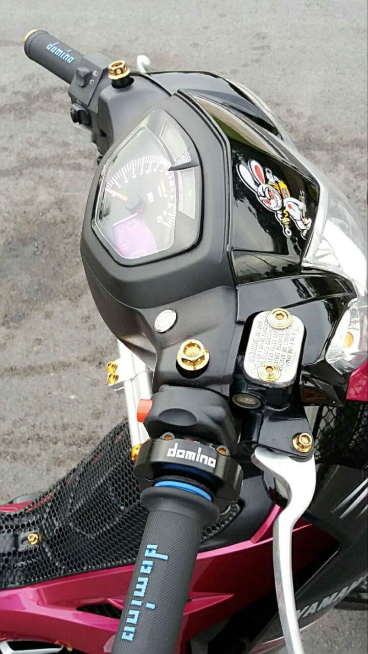 Sirius Spark Nano den tu mot Biker Sirius Tien Giang mien Tay song nuoc - 3