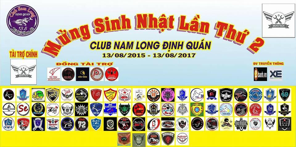 Club Nam Long Dinh Quan mung sinh nhat lan II