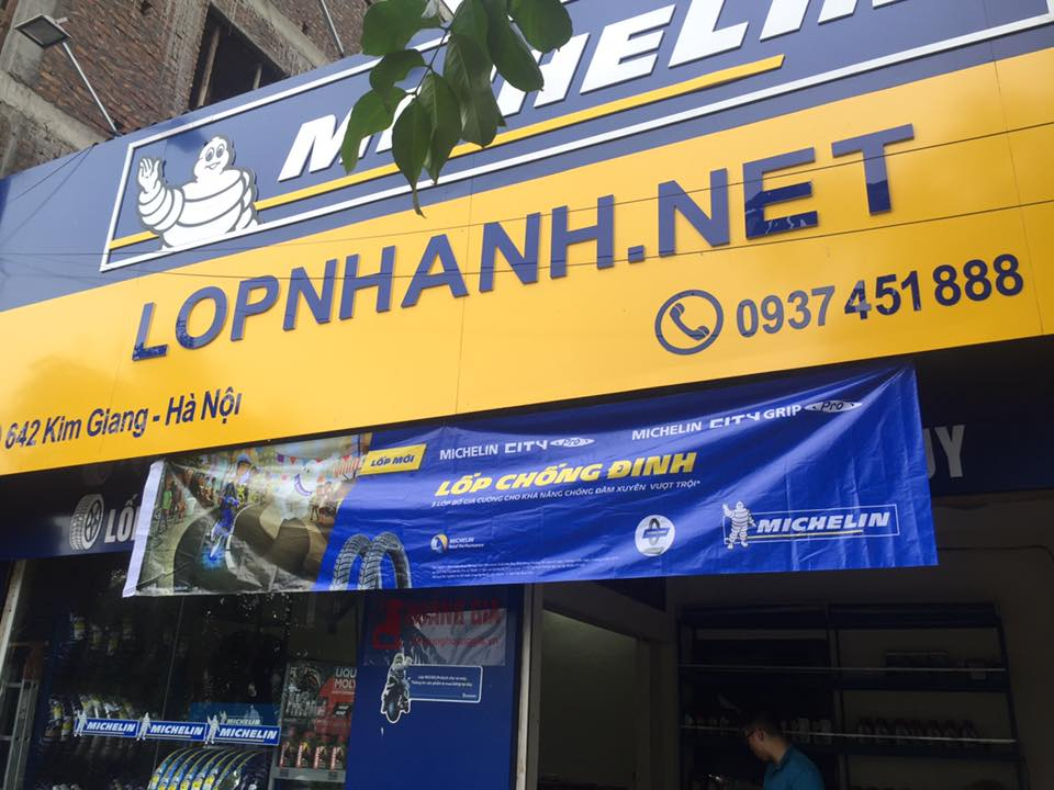 Dai ly phan phoi lop Michelin xe may Bo si toan quoc Bac Trung Nam