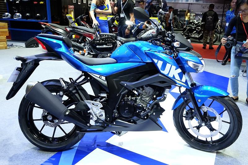 Danh gia xe GSXS150 2017 mau Naked Bike moi nhat cua hang Suzuki