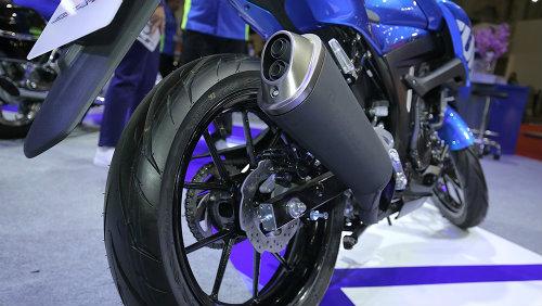 Danh gia xe GSXS150 2017 mau Naked Bike moi nhat cua hang Suzuki - 11