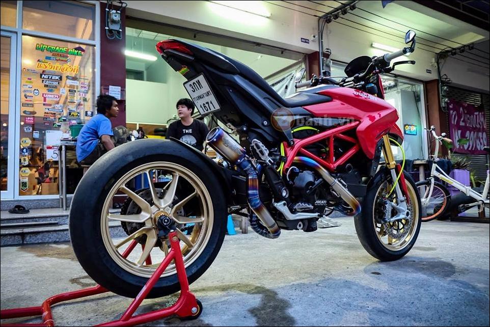 Ducati Hypermotard do da sac qua y tuong cua biker Thai - 2