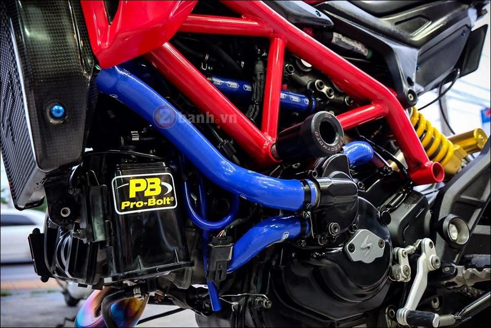 Ducati Hypermotard do da sac qua y tuong cua biker Thai - 4