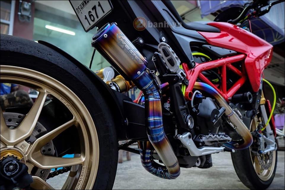 Ducati Hypermotard do da sac qua y tuong cua biker Thai - 10