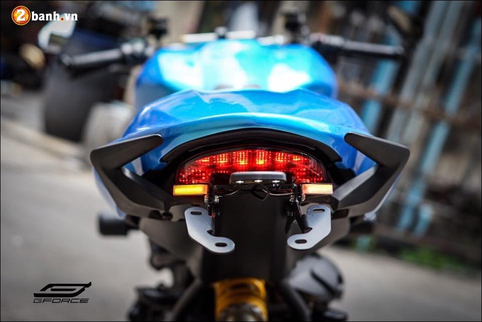 Ducati Monster 821 do noi bat cung xanh tuoi mat Atlantis Blue - 5