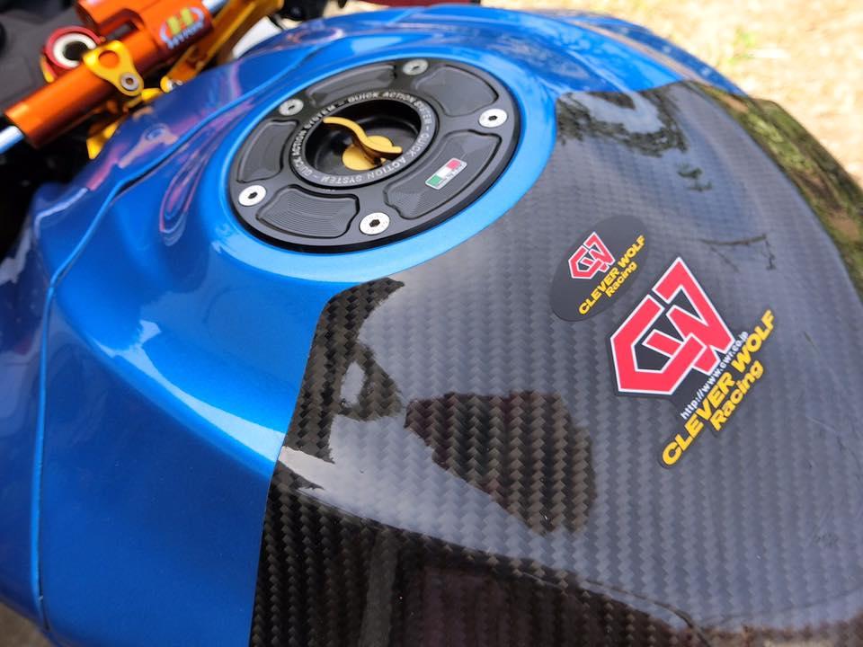 GSX R1000 ong vua trang xanh ke tranh ngoi vua mo to - 7