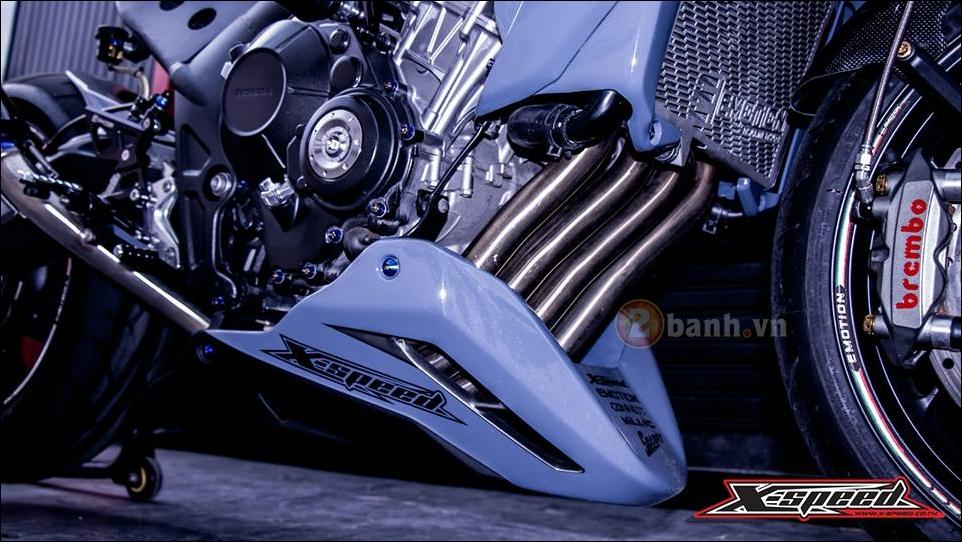 Honda CB650F do lot xac hoan thien cung phong cach Cafe Racer - 7