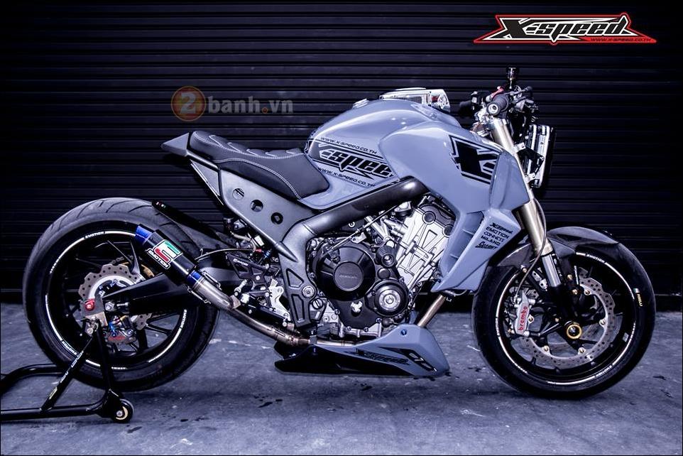 Honda CB650F do lot xac hoan thien cung phong cach Cafe Racer - 9
