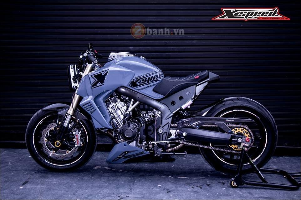 Honda CB650F do lot xac hoan thien cung phong cach Cafe Racer - 10
