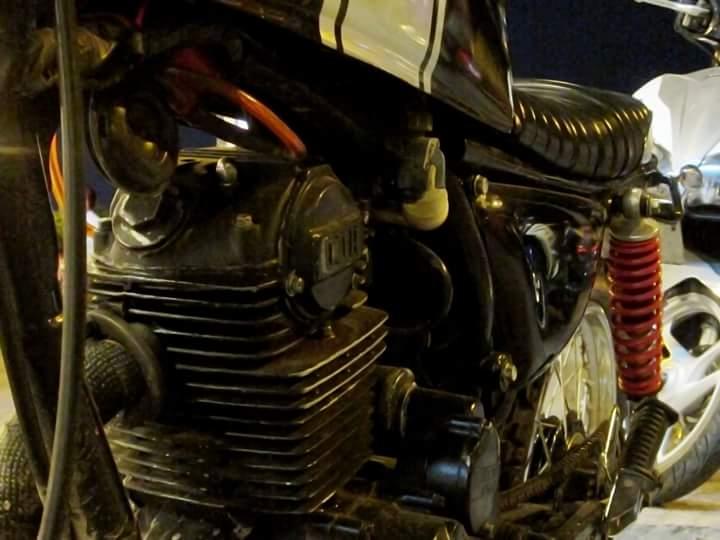 Honda GL 125 do Tracker qua cam nhan cua chang sinh vien cong nghe - 9