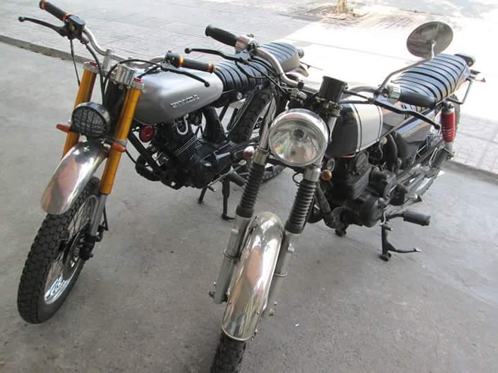Honda GL 125 do Tracker qua cam nhan cua chang sinh vien cong nghe - 28
