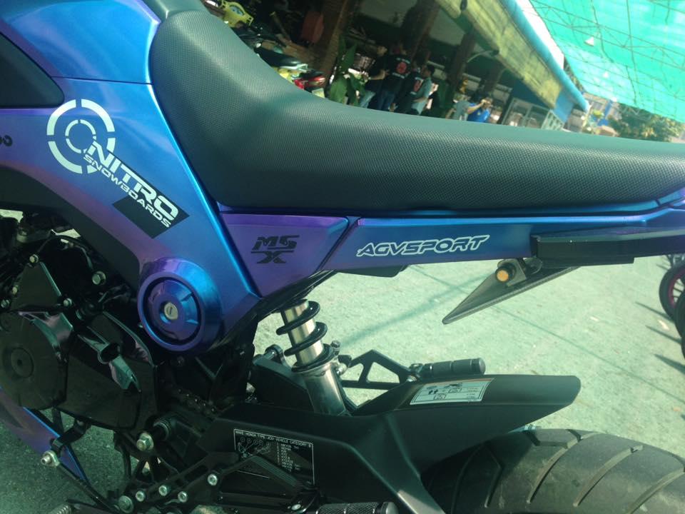 Honda MSX do lun day cung cap voi khoac phong cach chuyen mau ca tinh