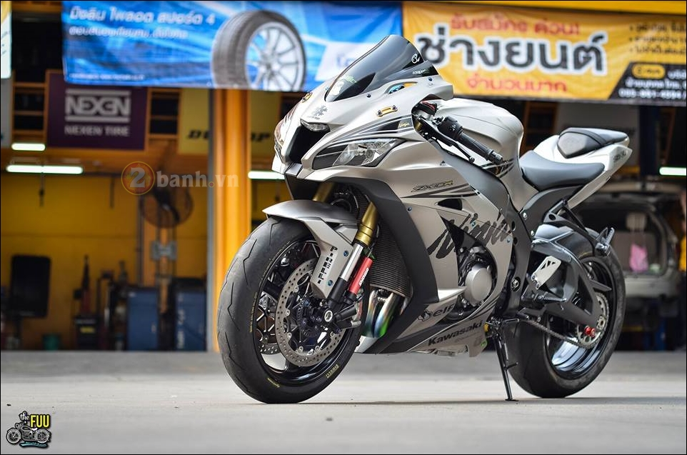 Kawasaki Ninja ZX10R do phong thai chien binh mua dong - 3