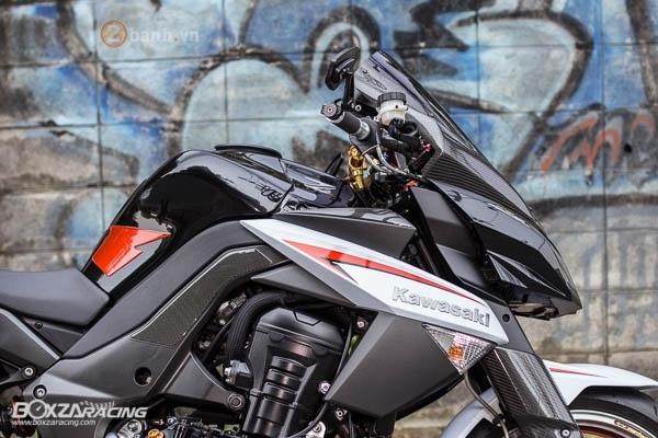 Kawasaki Z1000 2009 su tro lai day an tuong - 4