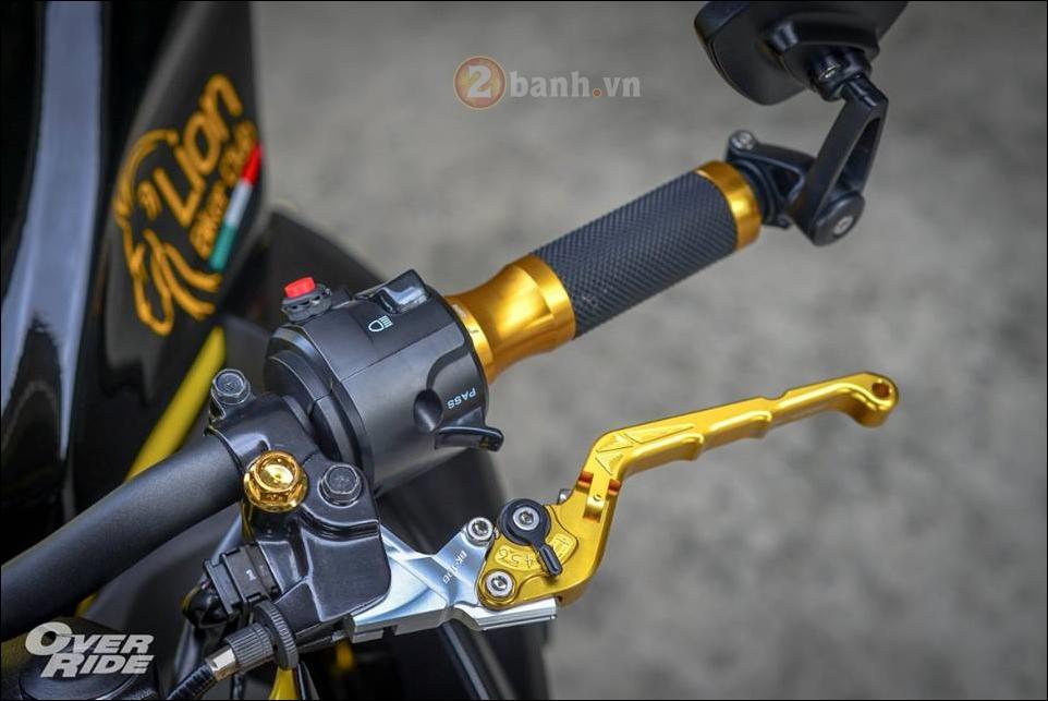 Kawasaki Z300 do noi loan cung phong cach Monster yellow - 5