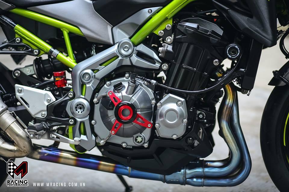 Kawasaki Z900 Pha cach cung phong cach Touring