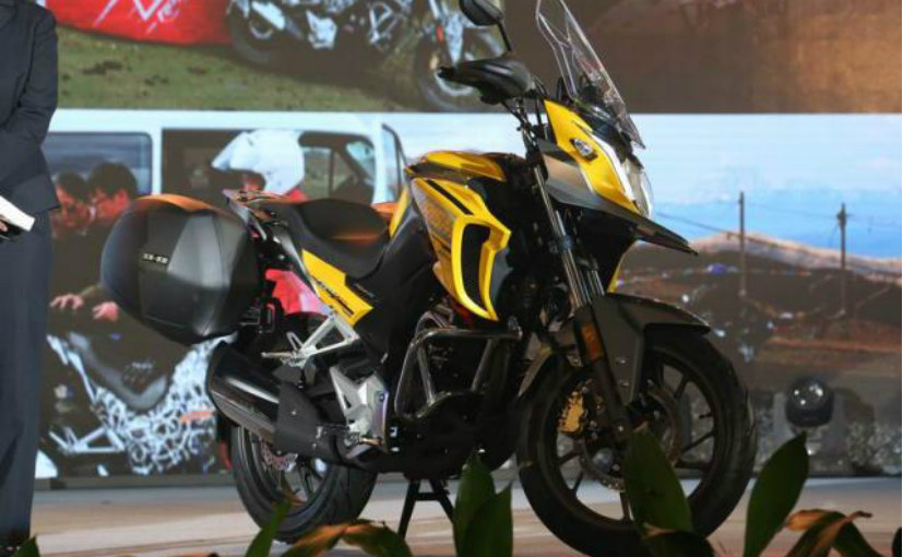 Moto phuot Honda CB190X 2017 chinh thuc trinh lang - 2